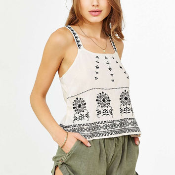 Staring At Stars Soft Roll-Up Short - Urban Outfitters