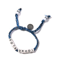 Venessa Arizaga Boys Drool Bracelet Cobalt Blue One