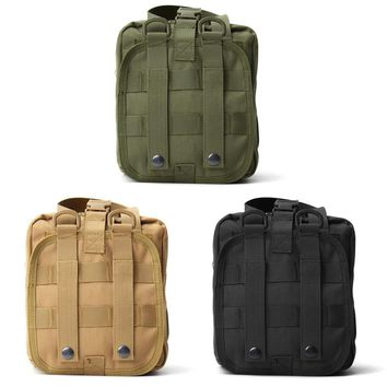 Safurance Empty Bag Tactical Medical First Aid Utility Pouch Emergency Bag For Vest & Belt Treatment Pack Outdoor