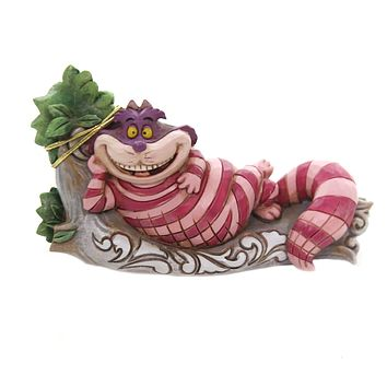 Jim Shore THE CAT'S MEOW Polyresin Cheshire Cat Tree 6001274