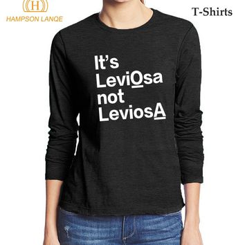 a6f1109e It's LeviOsa NOT LeviosA Hogwarts Magic 2017 Autumn Long Sleeve