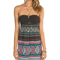 Billabong Slowly Cruzin Dress - Off Black - JD031SLO				 |  			Billabong 					US