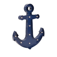 Wilson Lighted Anchor Sign