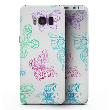 Vivid Vector Butterflies - Samsung Galaxy S8 Full-Body Skin Kit