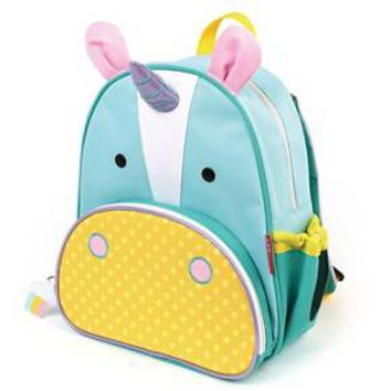 "SkipHop 11"" Zoopack Unicorn Kids Backpack - Yellow"