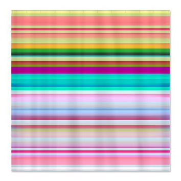 Shower Curtain - Stripes #3 - Ornaart Design