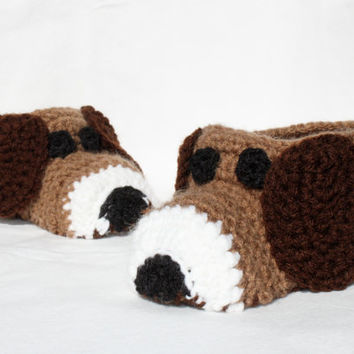Puppy Slippers For Toddler or Child