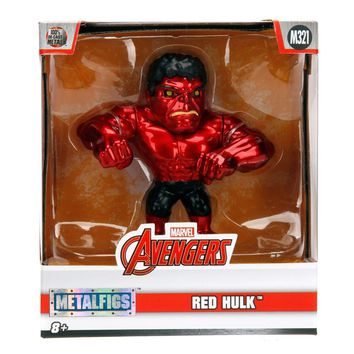 "Jada Diecast Metal Candy Red Hulk 4"" M321"
