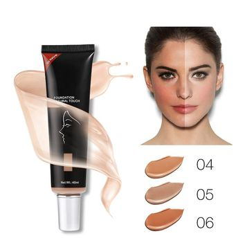Brand Base Liquid Foundation 40ml Women Face Makeup Whitening Concealer Oil-control Moisturizing BB & CC Cream Cosmetic