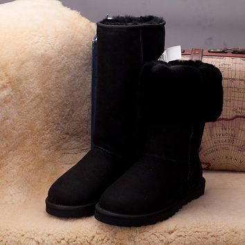 Sale Ugg 5815 Black Classic II Tall Boot Snow Boots