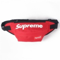 Men's and Women's Supreme Chest Pockets Oxford Casual Riding Bag 041