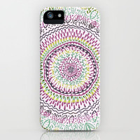 Intricate Spring iPhone & iPod Case by Janet Broxon