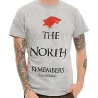 Game Of Thrones The North Remembers T-Shirt 2XL