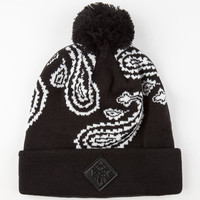 Dgk Teardrop Beanie Black One Size For Men 24564410001