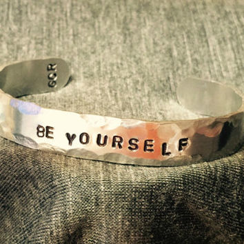 Be Yourself Cuff Bracelet