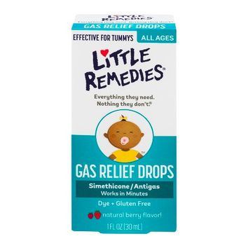 Little Remedies for Tummys Infants Gas Drops - 1oz
