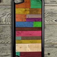 Wood Panel iPod 5 Touch Case
