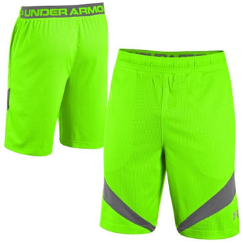 Under Armour NFL Combine Authentic Training Shorts - Neon Green
