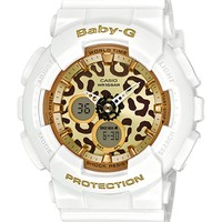 G-Shock Baby-G BA120LP-7A2 Ana-Digi Leopard White Watch