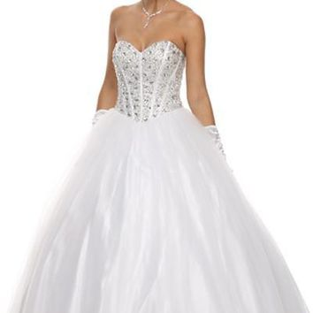 Inexpensive ball gown wedding dress jul#312