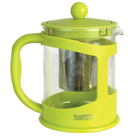 STUDIO Glass Teapot w/ Stainless Steel Infuser Lime