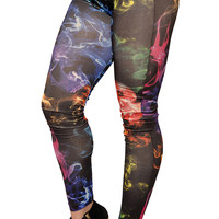 Colorful Smoke Leggings Design 429