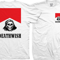 Deathwish Flavour Country Pocket Tee Small White