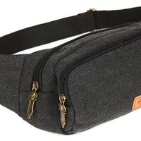 Everest Multiple Pocket Waist Pack