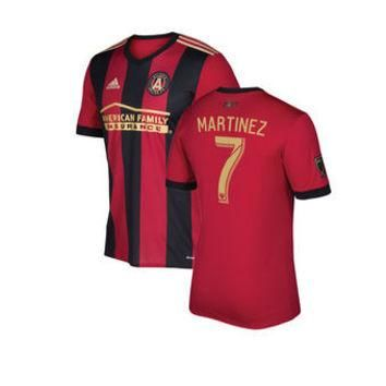 Atlanta United FC 2017 Home Men Soccer Jersey MARTINEZ#7