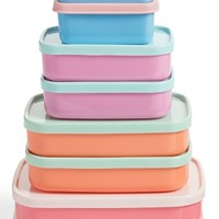 Rice Set of 8 Rectangular Food Storage Containers | Nordstrom