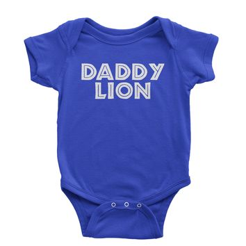 Daddy Lion Matching Family Infant One-Piece Romper Bodysuit