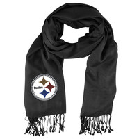 Pittsburgh Steelers NFL Pashi Fan Scarf (Black)