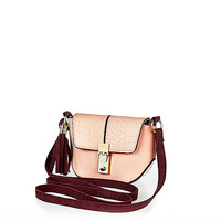 River Island Girls light pink cross body bag
