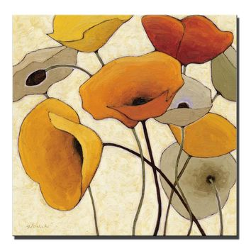 Morning Glory Flowers Wall Art Posters And Prints Abstract Large Pop Art Canvas Paintings Cuadros Pictures For Living Room Decor