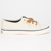 Sperry Top-Sider Seacoast Womens Shoes Ivory  In Sizes