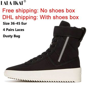 FREE SHIPPING Fear of God Shoes Owen Winter Shoes Men Justin Bieber Brand Men Boots FO