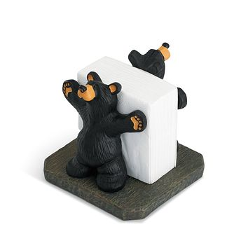 Joe & Roscoe Napkin Holder