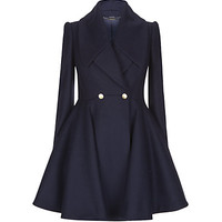 Alexander McQueen Fit and Flare Coat