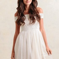 Sweet Promise Tulle Dress