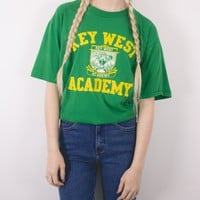 Vintage Key West Academy T shirt