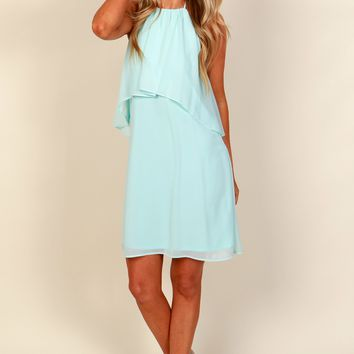 Be Angelic Classic Dress Light Blue