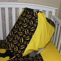 Batman Themed Car Seat Light Weight Carrier Cover