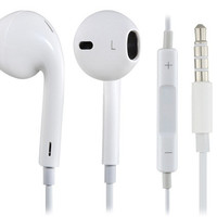 Earphone with Microphone & Volume Control for Apple Devices