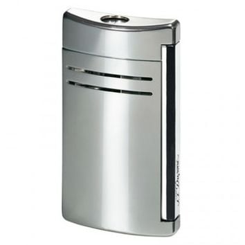 S.T. Dupont MaxiJet Silver Gloss Torch Flame Lighter