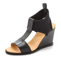 Neoprene Wedge Sandals