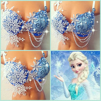 Reserved for Courtney: Frozen Rave Bra