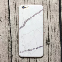Beautiful Black Marble Grain iPhone 5s 6 6s Plus Case + + Free Gift Box