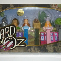 Wizard Of Oz Collector's Series Pez Set of 8 Pez Dispensers
