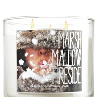 14.5 oz. 3-Wick Candle Marshmallow Fireside