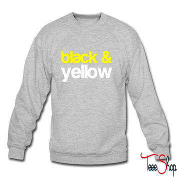 Black and Yellow Wiz Khalifa Design 6 sweatshirt